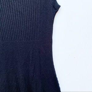 ATM Anthony Thomas Melillo Dresses - atm / black rubbed high neck bodycon dress lbd